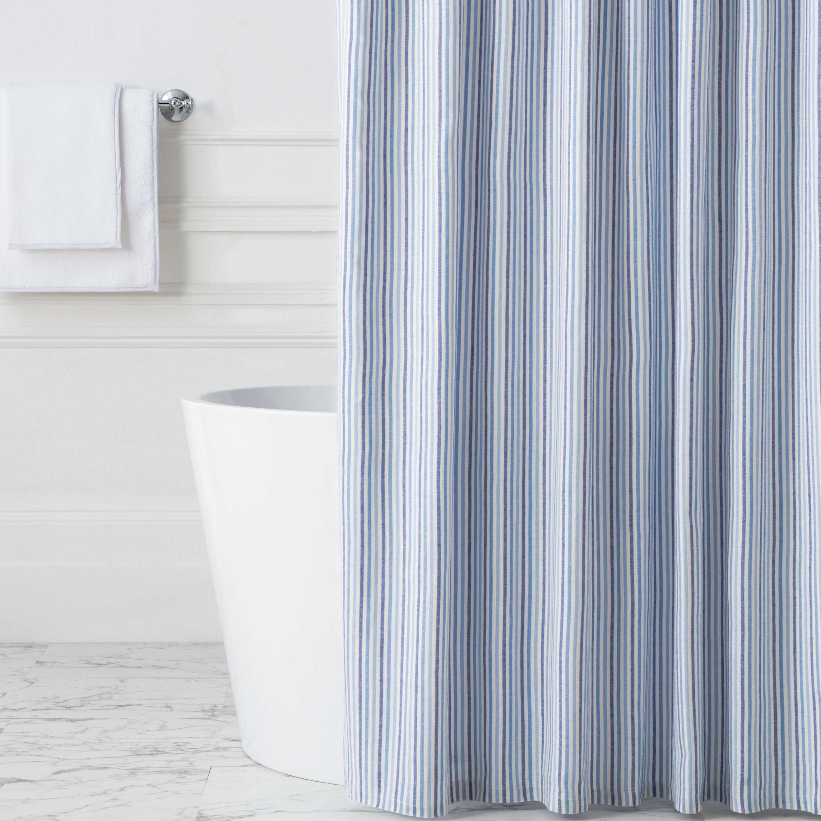 Pine Cone Hill 100 Cotton Striped Single Shower Curtain Perigold