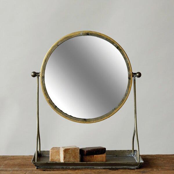 Modern & Contemporary Gold Frame Mirror   AllModern