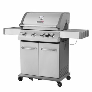 4-Burner Propane Gas Grill with Side Burner by Royal Gourmet Corp