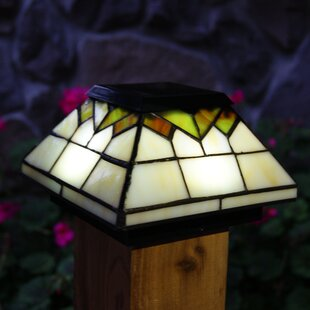 Wellington 1-Light LED Solar Post Cap