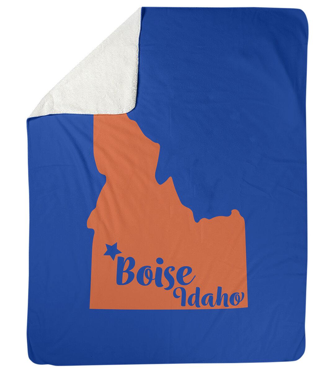 East Urban Home Idaho Sports Fleece Throw Wayfair