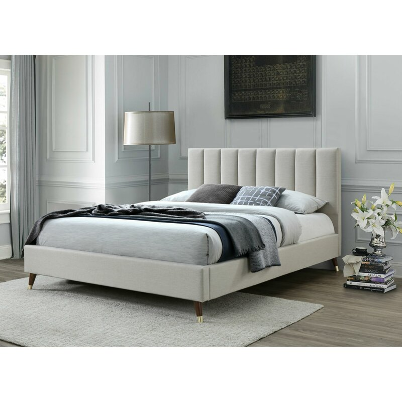 George Oliver Howland Queen Upholstered Platform Bed Reviews Wayfair