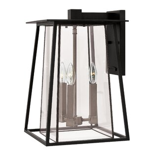 Check Prices Walker 3-Light Outdoor Wall Lantern By Hinkley Lighting
