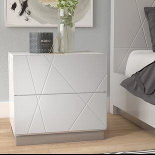 Ram 2 Drawer Nightstand