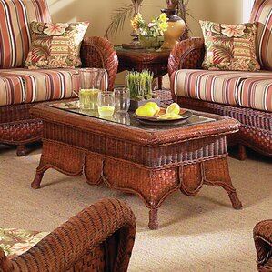 Autumn Morning Coffee Table by South Sea Rattan