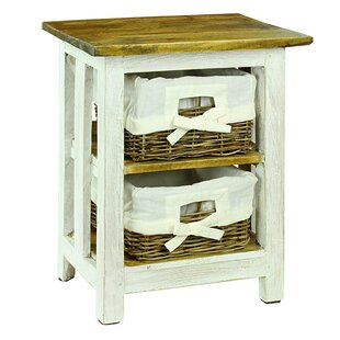 Searching for Regillo 2 Basket Drawer Nightstand by August Grove