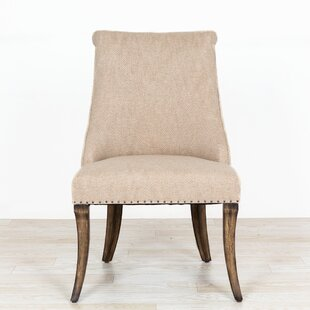 Schank Upholstered Dining Side Chair by Gracie Oaks