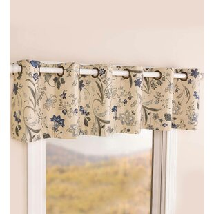 Jacobean Thermalogic Grommet 40 Window Valance by Plow & Hearth