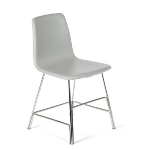The Ekero Genuine Leather Upholstered Dining Chair by dCOR design