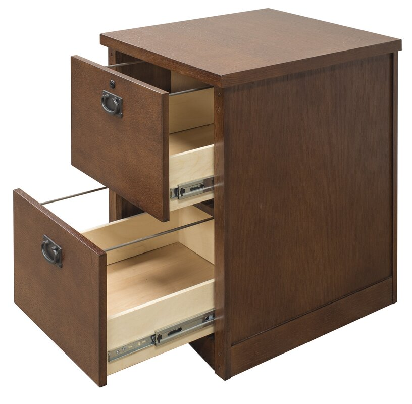 Mission Pasadena 2 Drawer Mobile File Cabinet