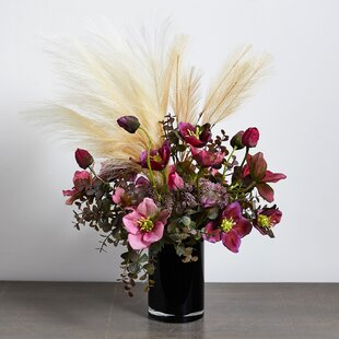 Faux Wheat Grass Pick ... 6 Pieces Bundle 11 Inches for Floral Arrangements