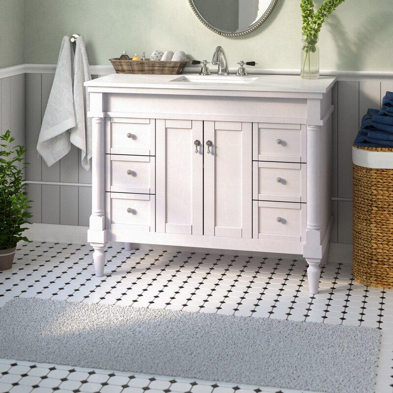 """Deina 42"""" Single Bathroom Vanity Set"""