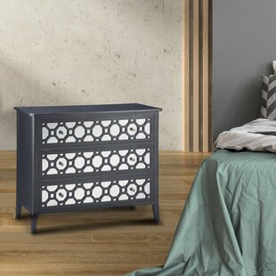 Rosdorf Park Stockton 3 Drawer Dresser