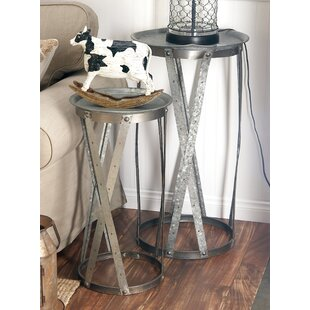 Affordable Price 2 Piece Tray Table Set By Cole & Grey