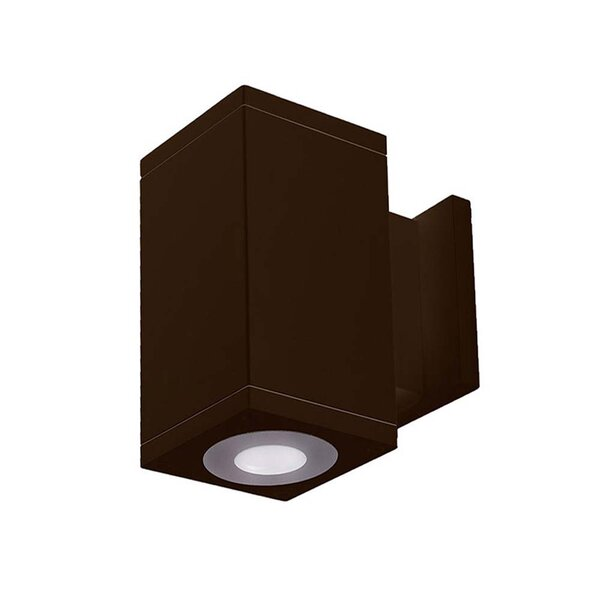 Wac Lighting Cube Architectural Led Outdoor Armed Sconce Perigold