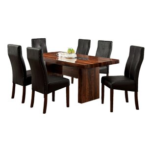 Carroll 7 Piece Dining Set Hokku Designs