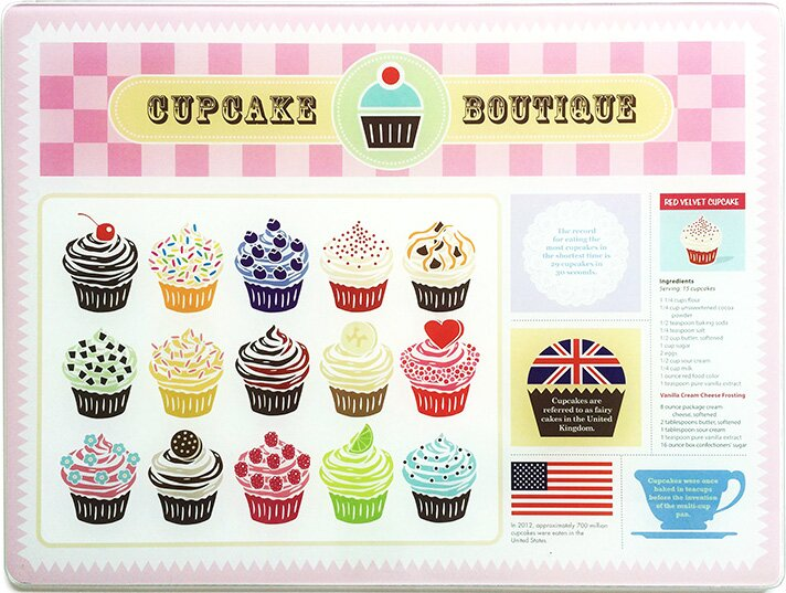 Cupcake Cutting Board