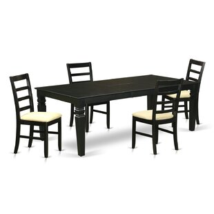 Cecily 5 Piece Dining Set by Red Barrel S..