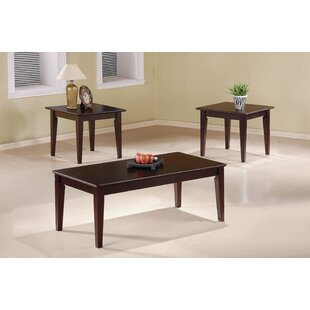 Riesner 3 Piece Coffee Table Set