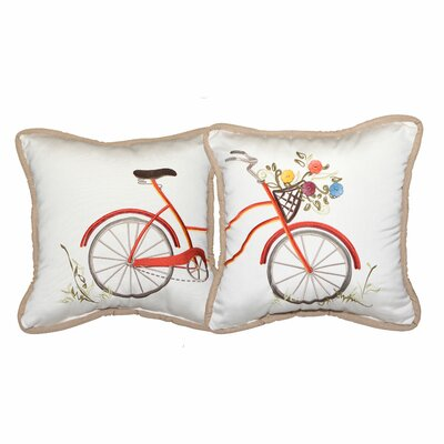 Sunbrella Indoor / Outdoor Throw Pillow (Set Of 2) by Inspired Visions Find