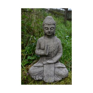 Exceptionnel Blessing Welsh Buddha Stone Garden Statue