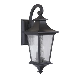Chafin 2-Light Outdoor Wall Lantern