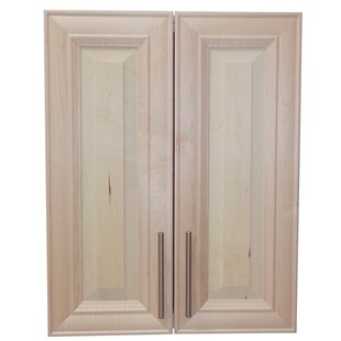 Overton 21 W x 34 H Recessed Cabinet by WG Wood Products