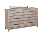 Elliot 6 Drawer Double Dresser by Latitude Run®