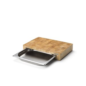 Andreas Cutting Board with Drawer