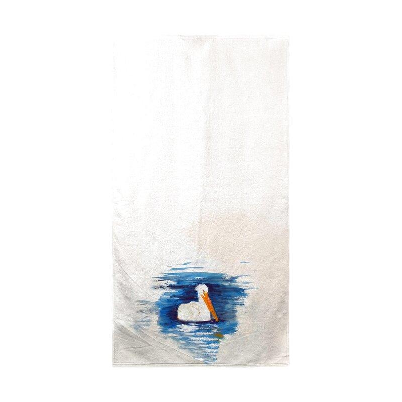 Breakwater Bay Sangiacomo Spring Creek Pelican Beach Towel Wayfair