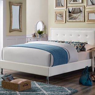 Shop For Brinker Queen Upholstered Platform Bed by Charlton Home Reviews (2019) & Buyer's Guide