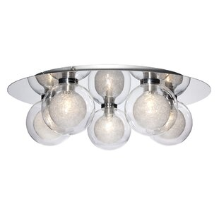 Schlaikjer 5-Light Flush Mount by Orren Ellis