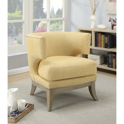 Astonishing Gracie Oaks Shepherds Barrel Chair Upholstery Yellow Dailytribune Chair Design For Home Dailytribuneorg