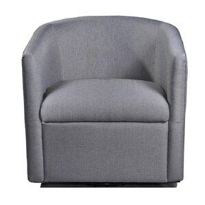 Sebastien Swivel Barrel Chair
