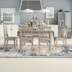 Wildwood Extendable Dining Set With 6 Chairs By August Grove