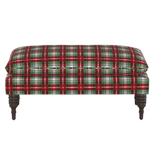 Anoka Pillowtop Upholstered Bench by Loon Peak