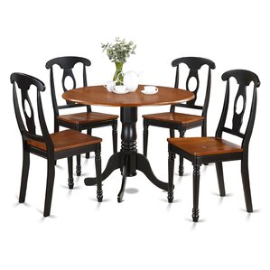 Gloucester 5 Piece Dining Set by Charl..