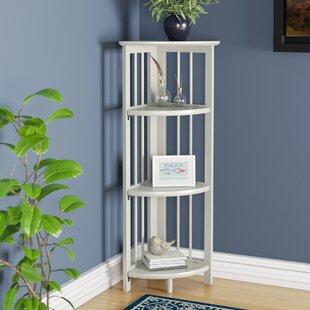 Duerr Corner Unit Bookcase Charlton Home