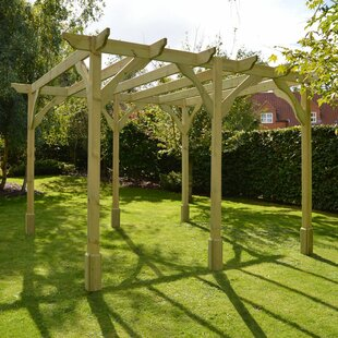 Discount Randi Manufactured Wood Pergola