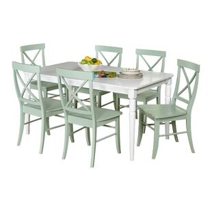Brookwood 7 Piece Dining Set Beachcrest Home
