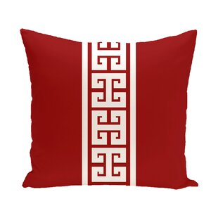 Hancock Key Stripe Stripe Throw Pillow