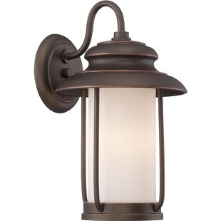 Breakwater Bay Tindall 1-Light Outdoor Wall Lantern