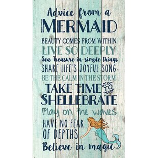 Nice Pine Pallet Advice From A Mermaid Wall Décor