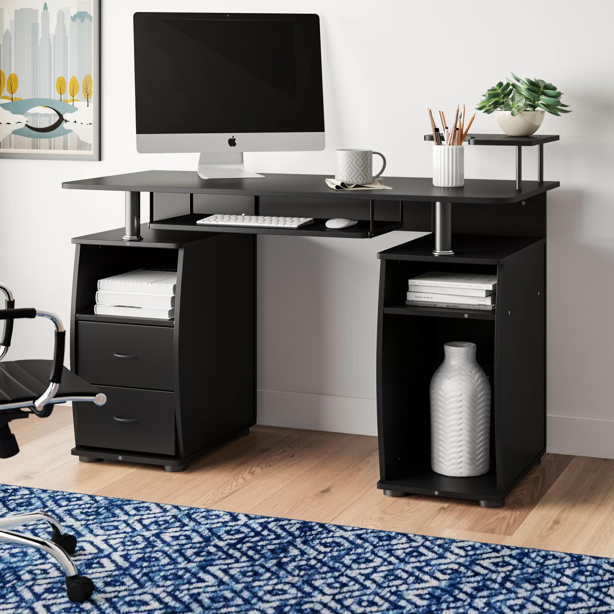 Ebern Designs Gaul Computer Desk & Reviews | Wayfair