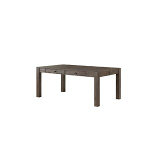 Benat Solid Wood Dining Table Gracie Oaks