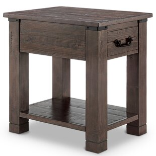 Kellyville End Table by Gracie Oaks