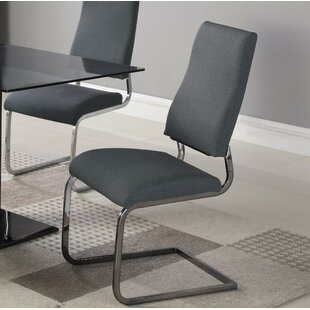 Lilith Upholstered Dining Chair (Set Of 2) by Orren Ellis Best