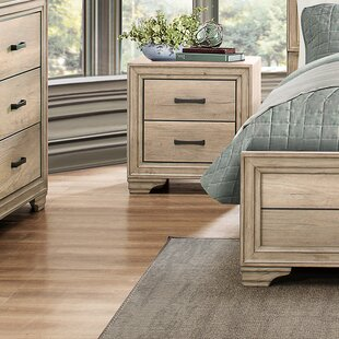 Emberton 2 Drawer Nightstand by Millwood Pines