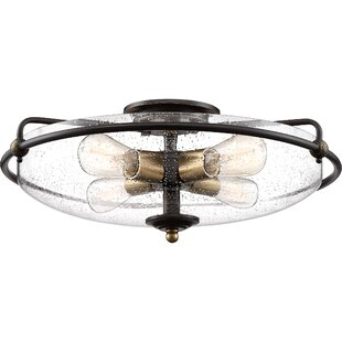 Helsley 4-Light Flush Moun..