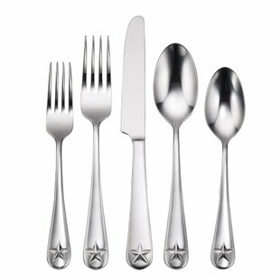 Tindra 45 Piece Flatware Set